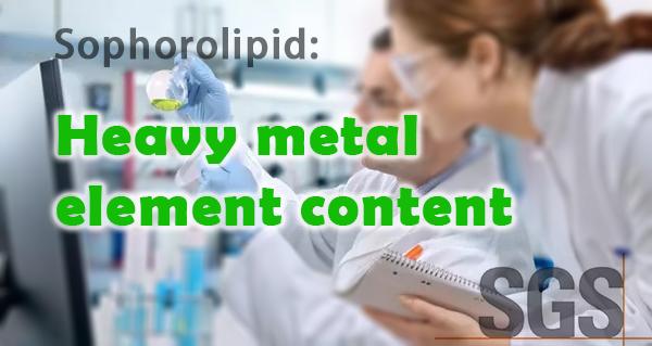 SL Heavy metal element content